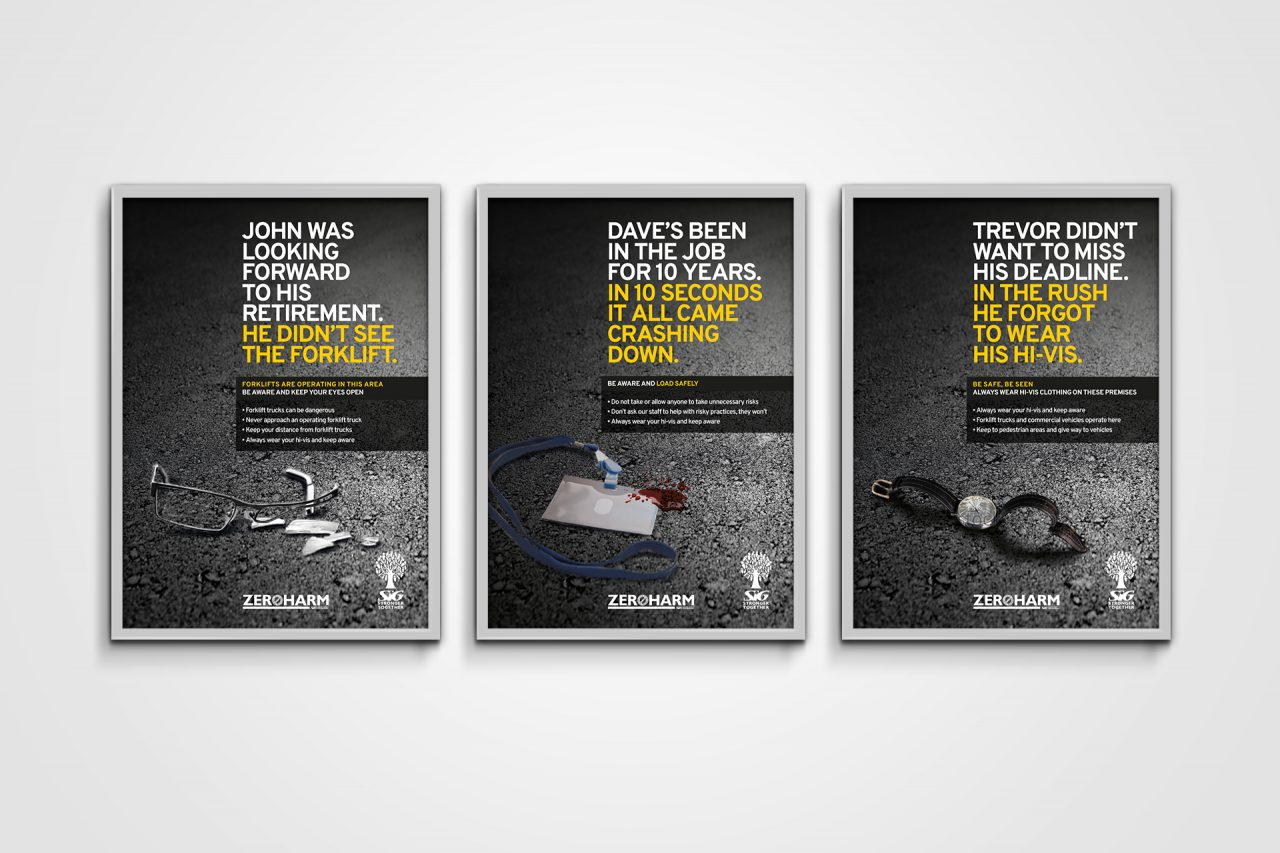 SIG health and safety posters