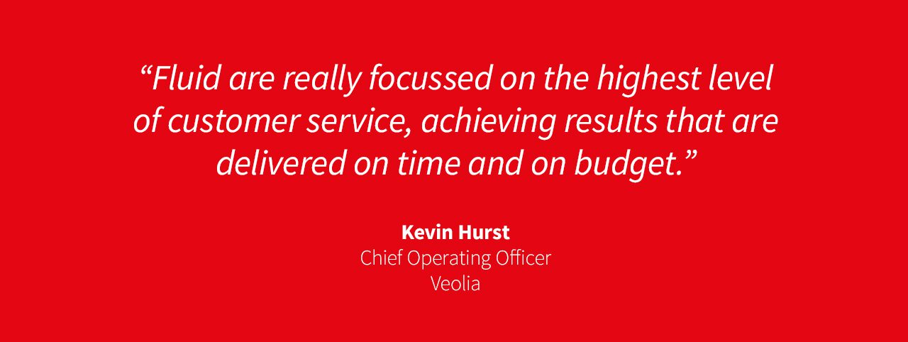 Veolia client quote